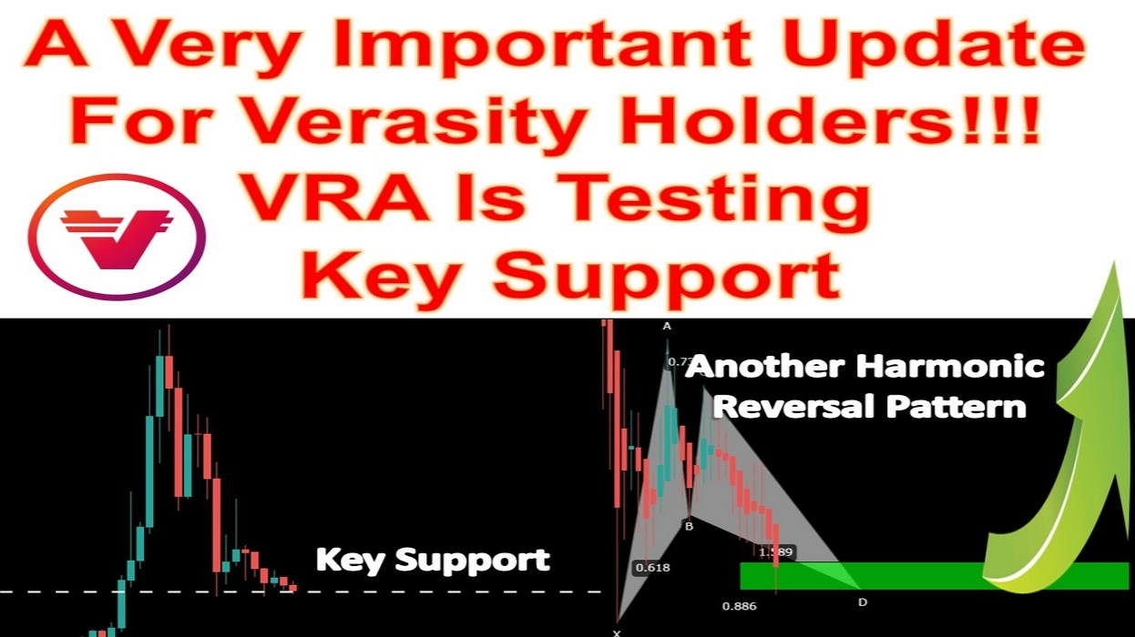A Very Important Update For Verasity Holders!!! VRA Is Testing Key Support