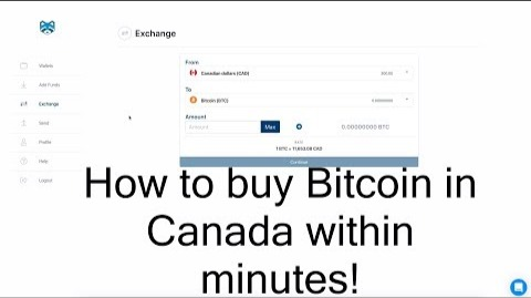 How to buy crypto in canada