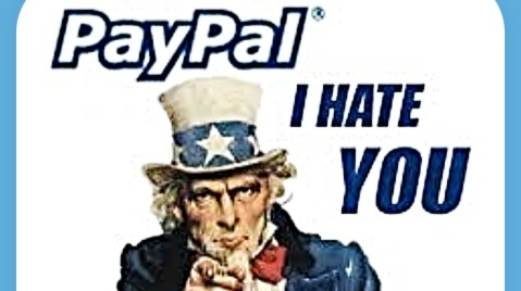 Paypal has never been your pal, and definitely isn't with bitcoin transactions.