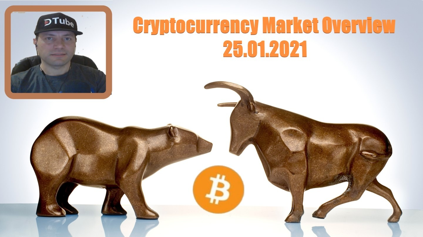 🎥 My Cryptocurrency Market Overview | 25.01.2021
