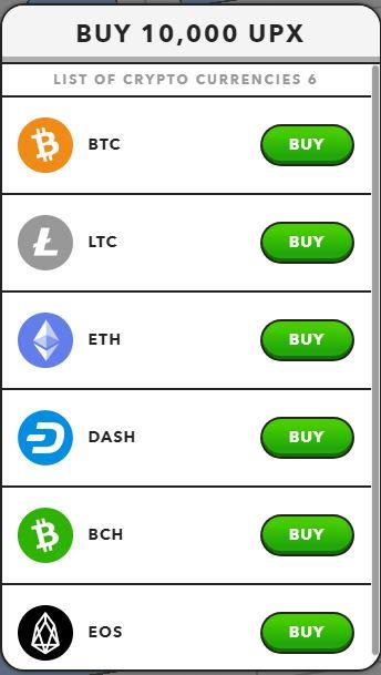 Crypto purchase