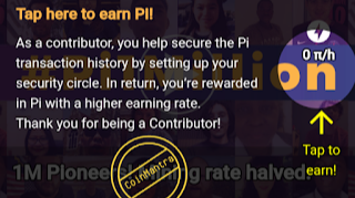 Mine Pi Token your smartphone