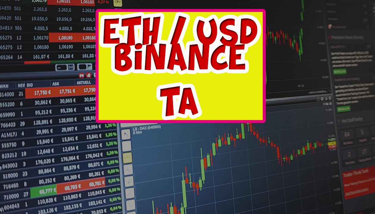 ETH / USD technical analysis [BINANCE]