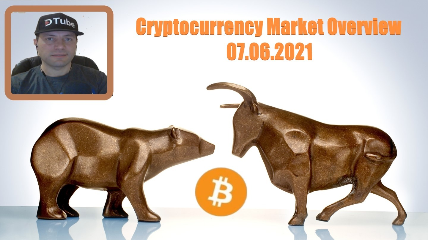 🎥 My Cryptocurrency Market Overview | 07.06.2021