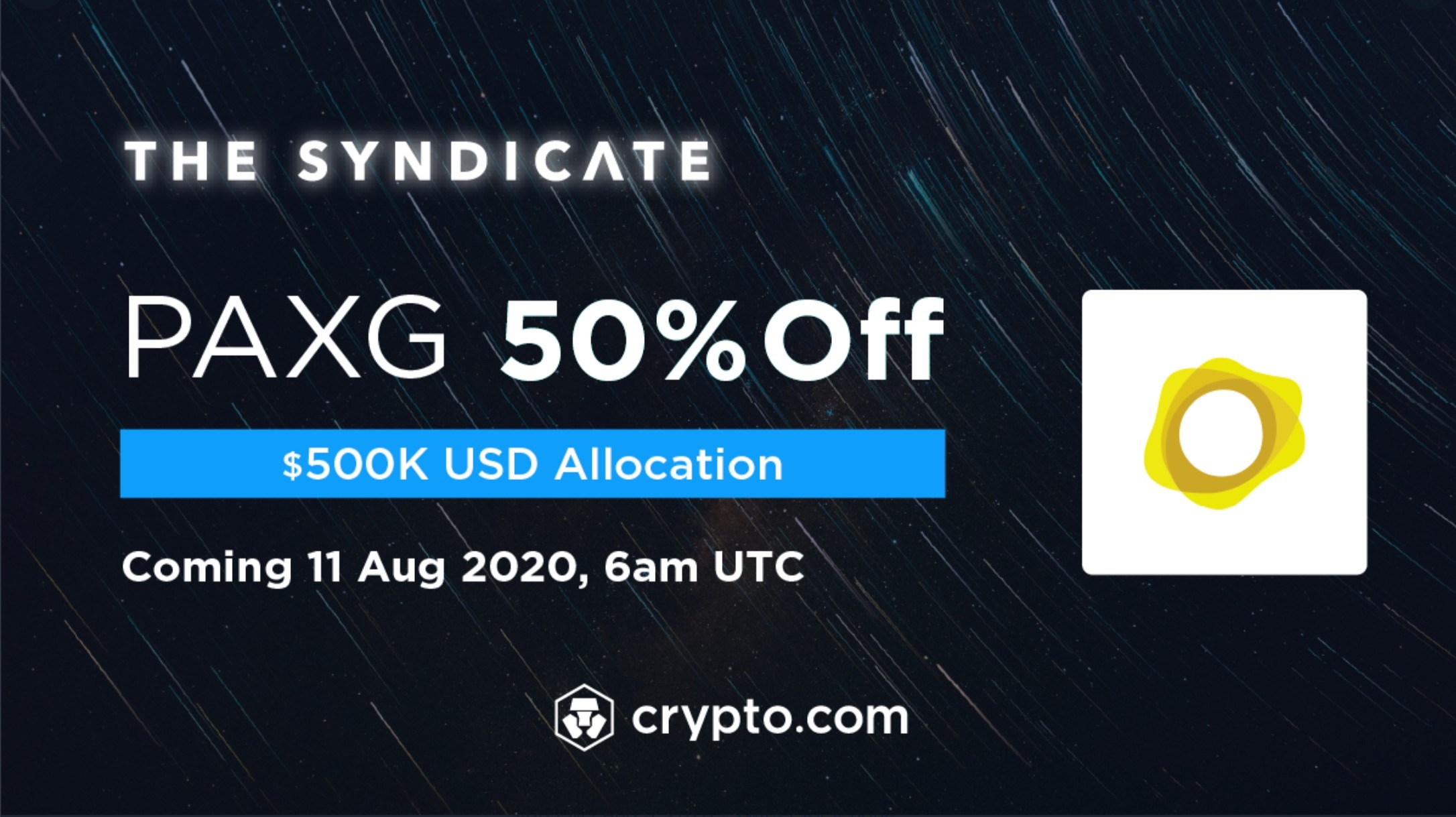 PAXG Syndicate Listing
