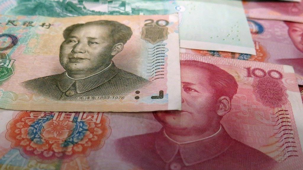 Coronavirus China Paper Money