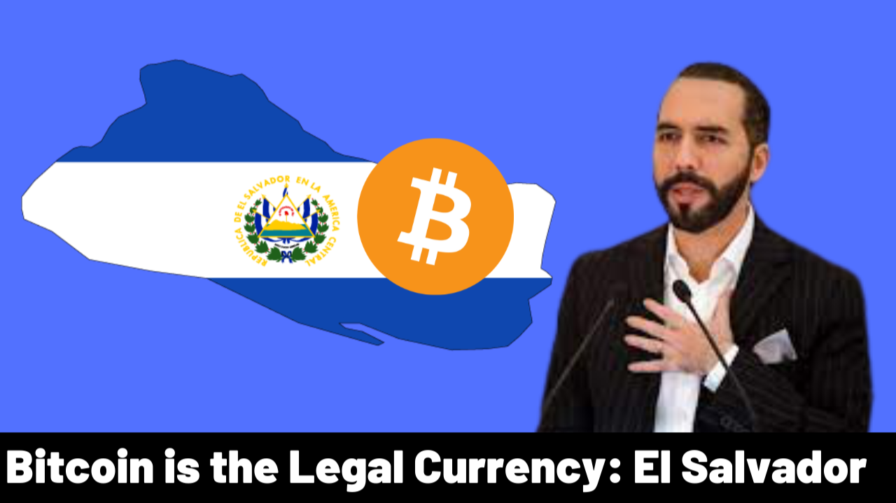 Bitcoin Is Legal Currency | First Country in World | Why | Pollution Problem Solved