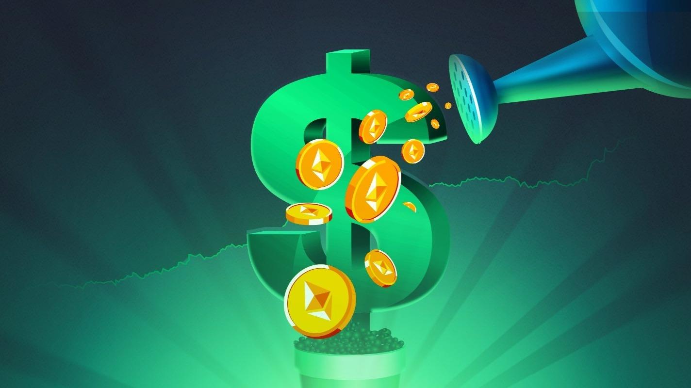 Farming Coins - Stock Photos