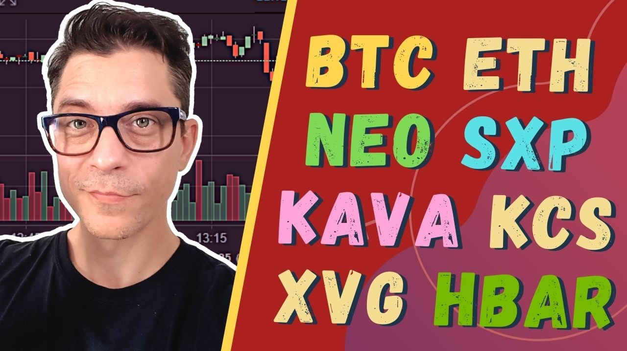Crypto News: BTC, ETH, KAVA, NEO, KCS, XVG, HBAR, HNT, CTSI