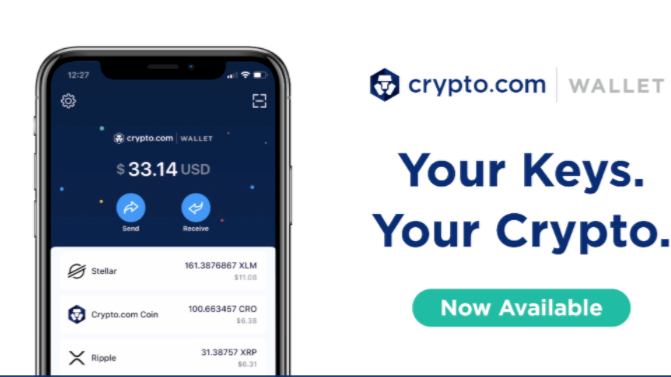 Crypto.com Wallet is a non-custodial wallet allows users to have full control of their crypto and private keys.