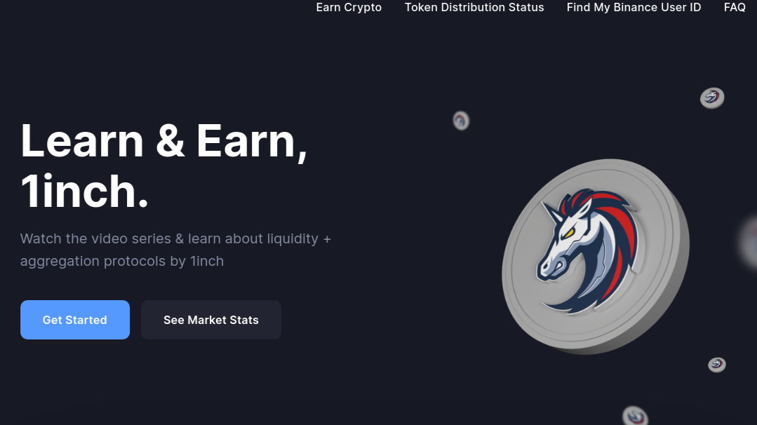 coinmarketcap, 1inch, earn, quiz, answers