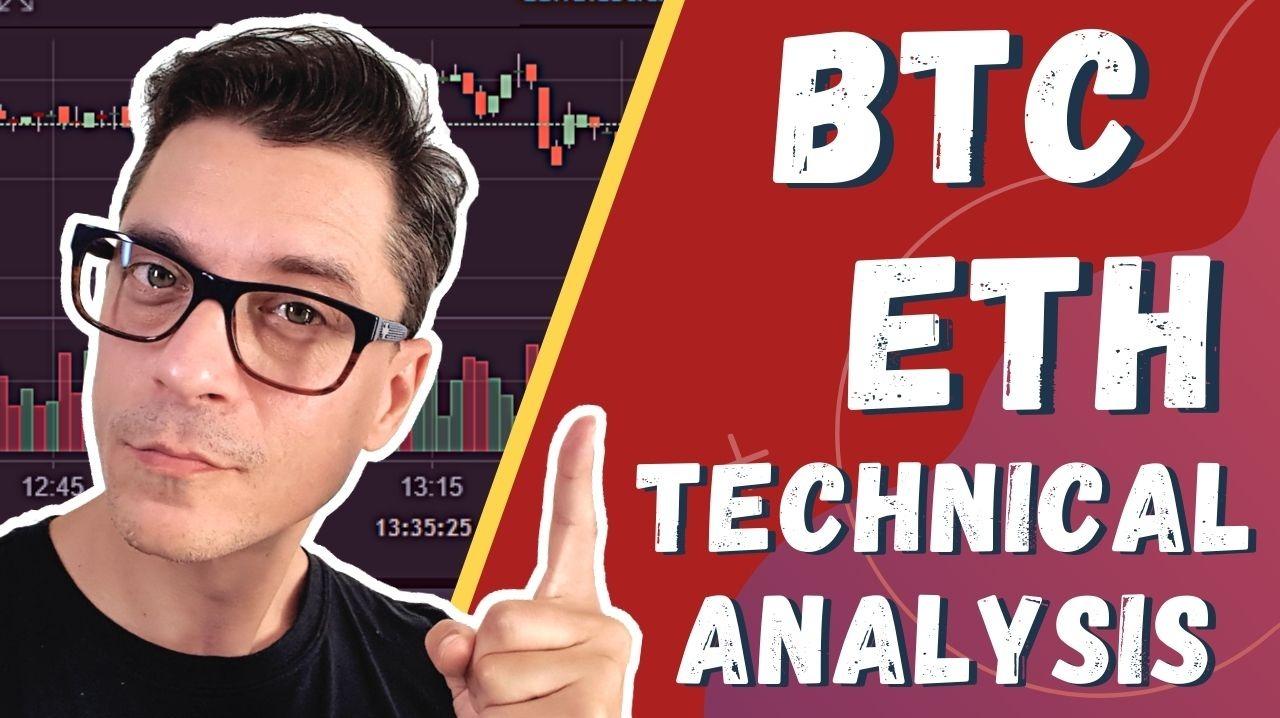 Bitcoin & Ethereum Pullback - Technical Analysis