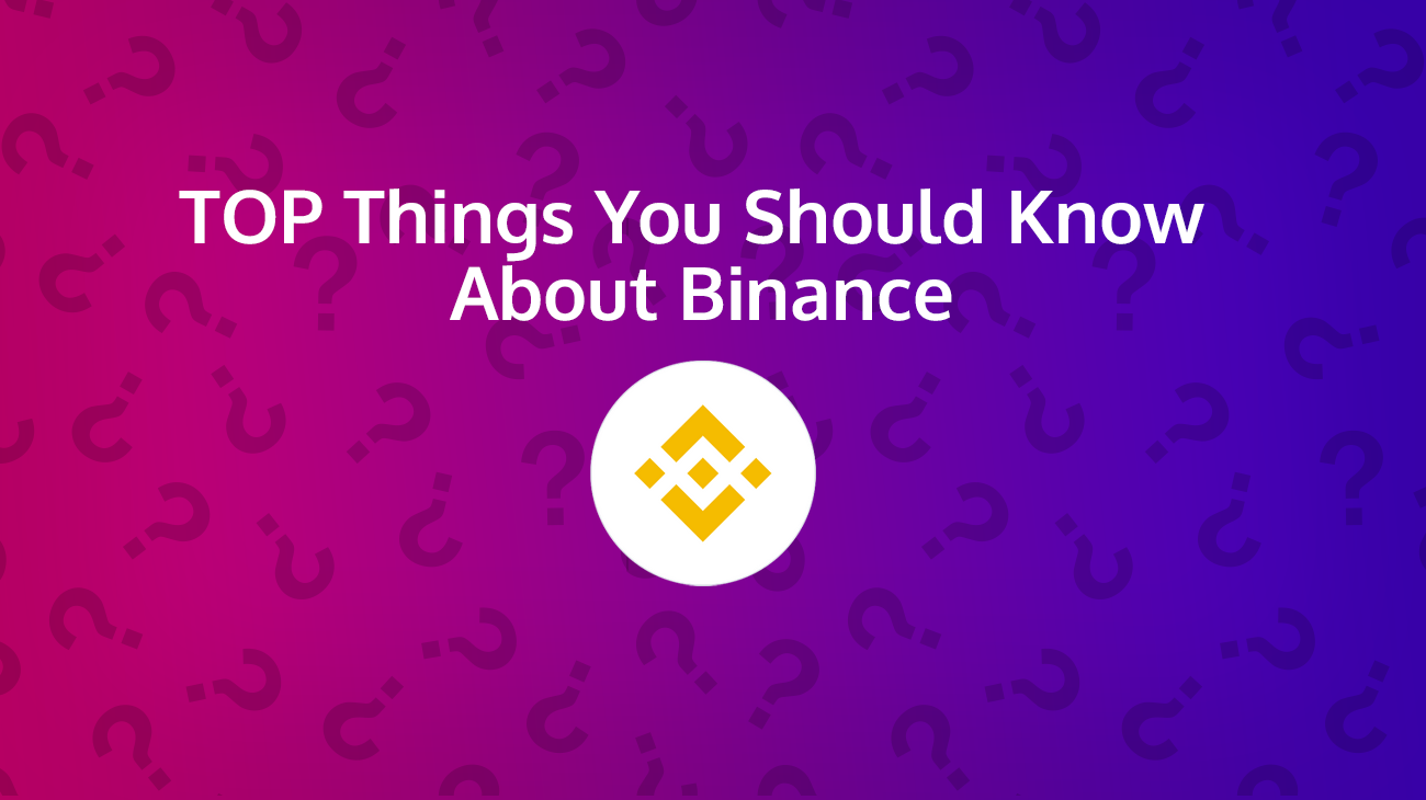 binance faq and logo