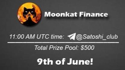 Moonkat Finance x Satoshi Club AMA Recap from 9th of June