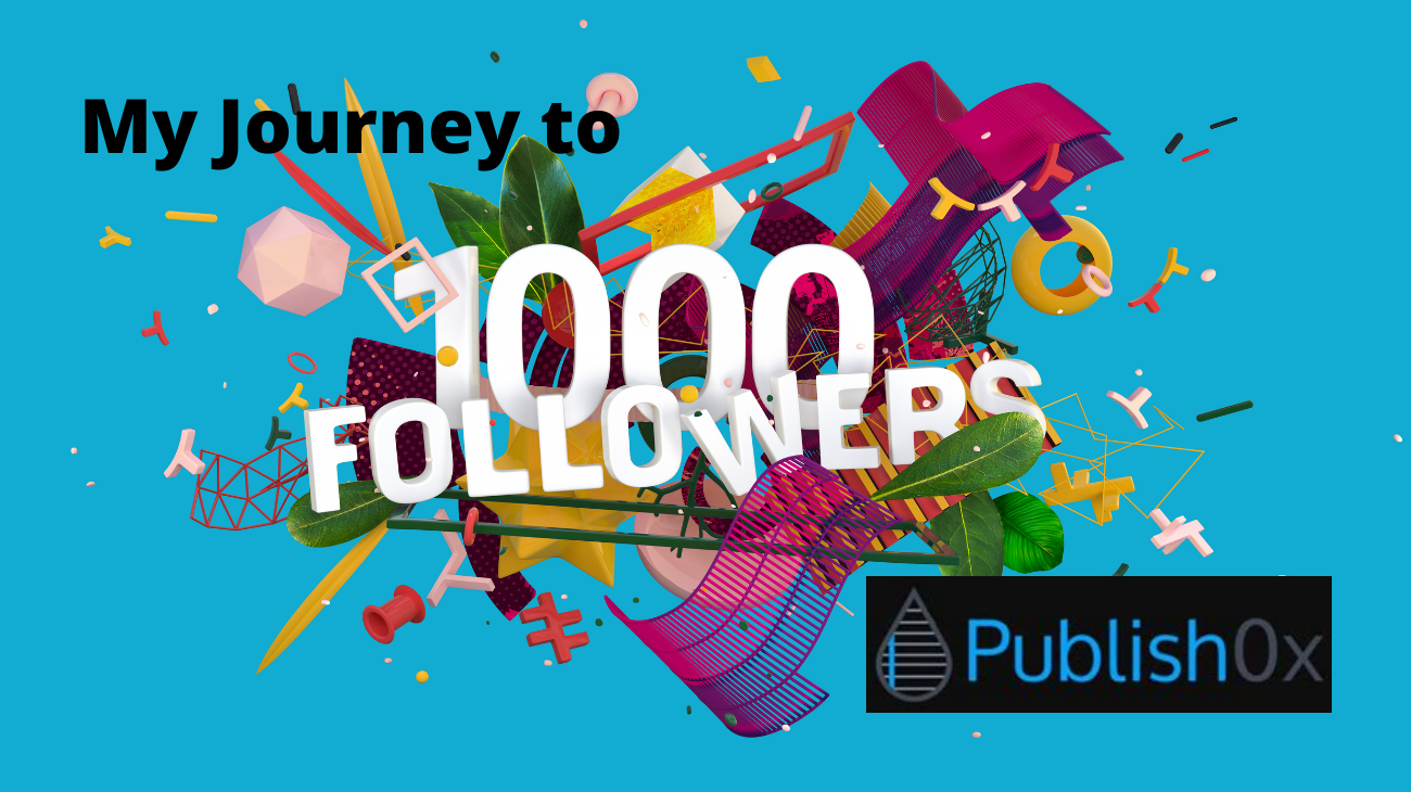 How to Reach 1000 Followers on Publish0x
