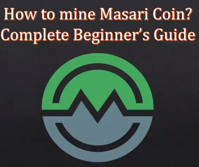 HOW TO MINE MASARI COIN