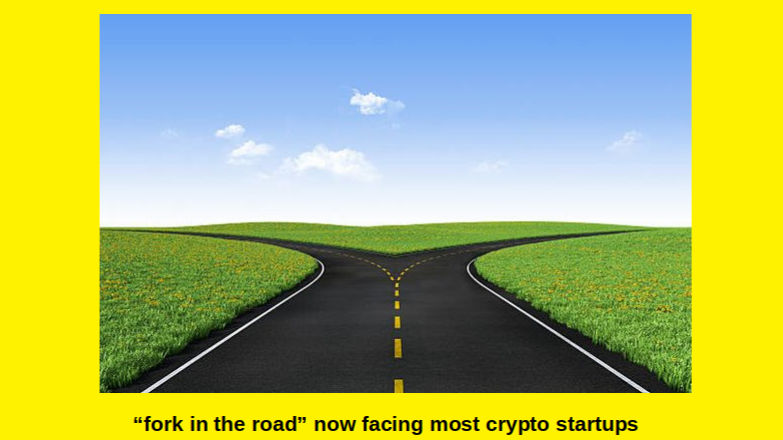 "The Crypto Startup ""FORK IN THE ROAD"" Is now here in 2020"