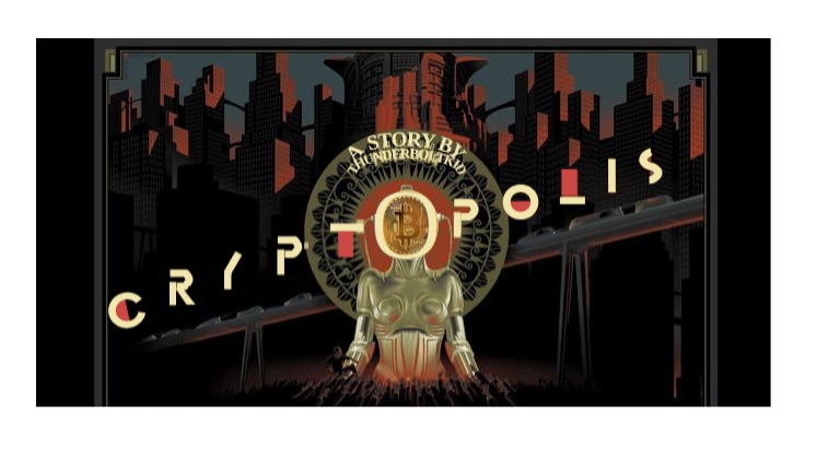 A Bright and Shiny Cryptopolis, Which keeps the people in control of AI, via Blockchain ?