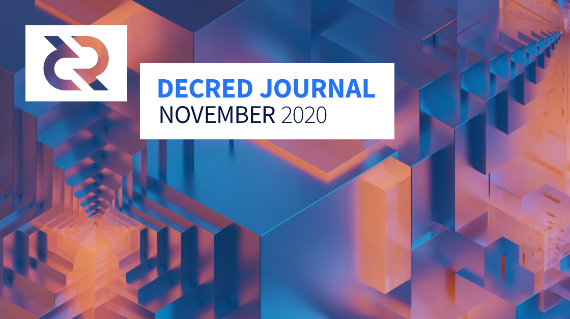Decred Journal - November 2020