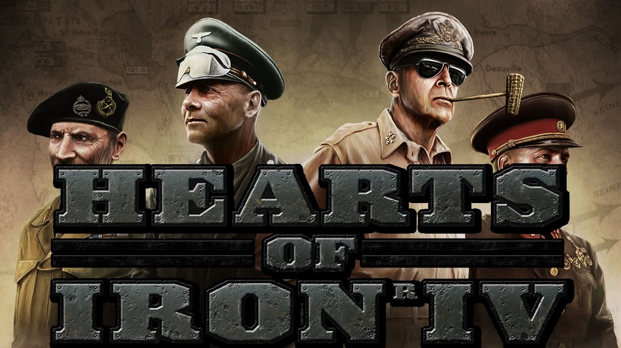 """Coverimage of the video game """"Hearts of Iron IV"""""""