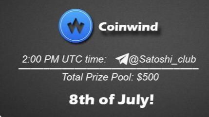 Coinwind x Satoshi Club AMA Recap from 8th of July