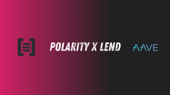 Polarity.Exchange addes support for Aave $Lend