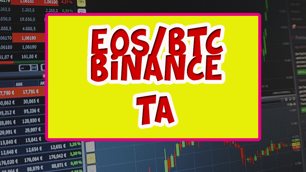 EOS / BTC technical analysis [BINANCE]