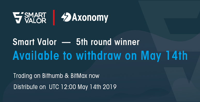 Smart Valor airdropped token worth ($10,500) to the Axonomy