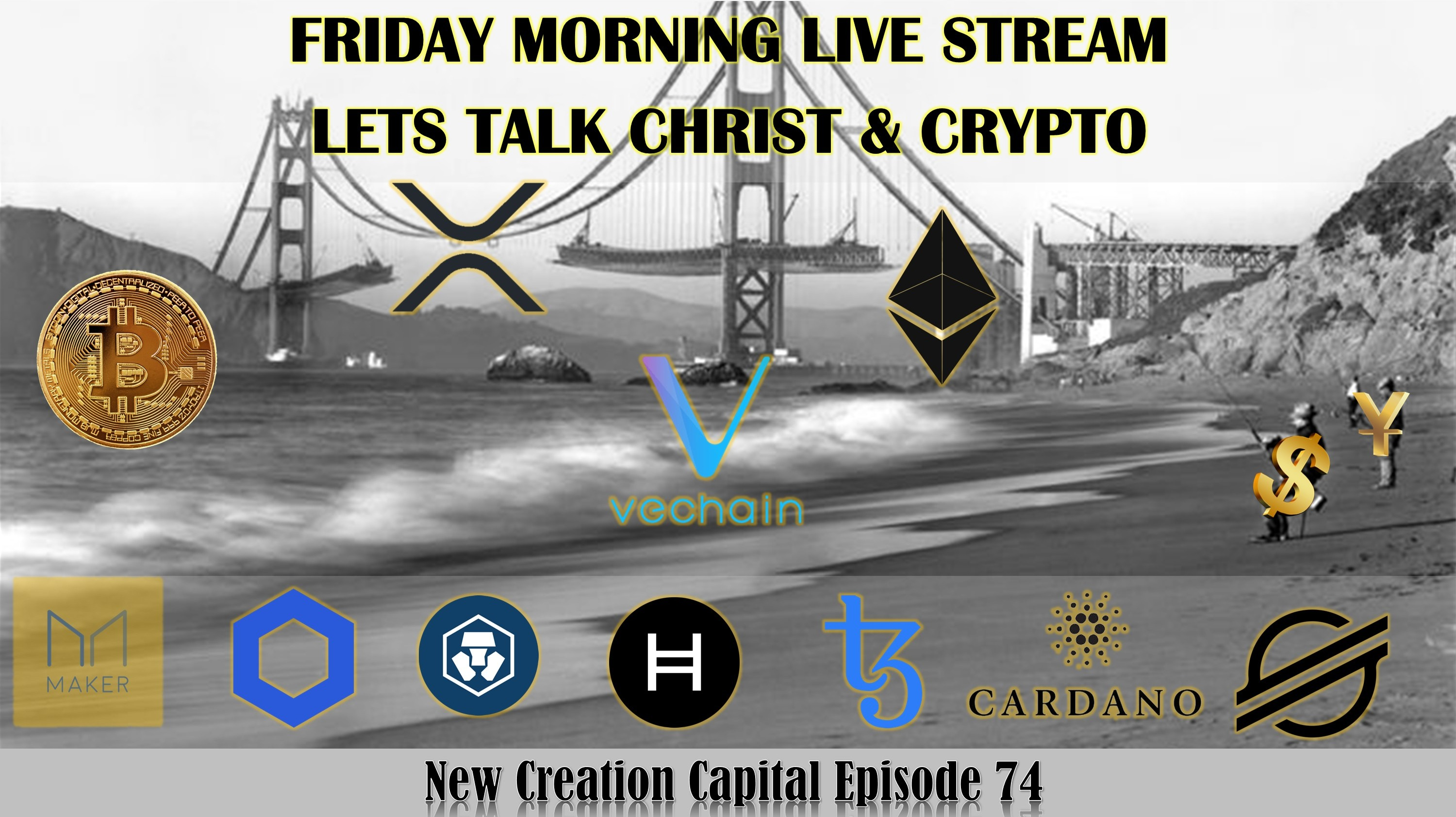 Episode 74: Lets Talk Crypto! Friday Morning Live Stream
