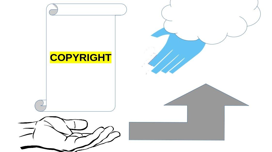 illustration of copyright transfer
