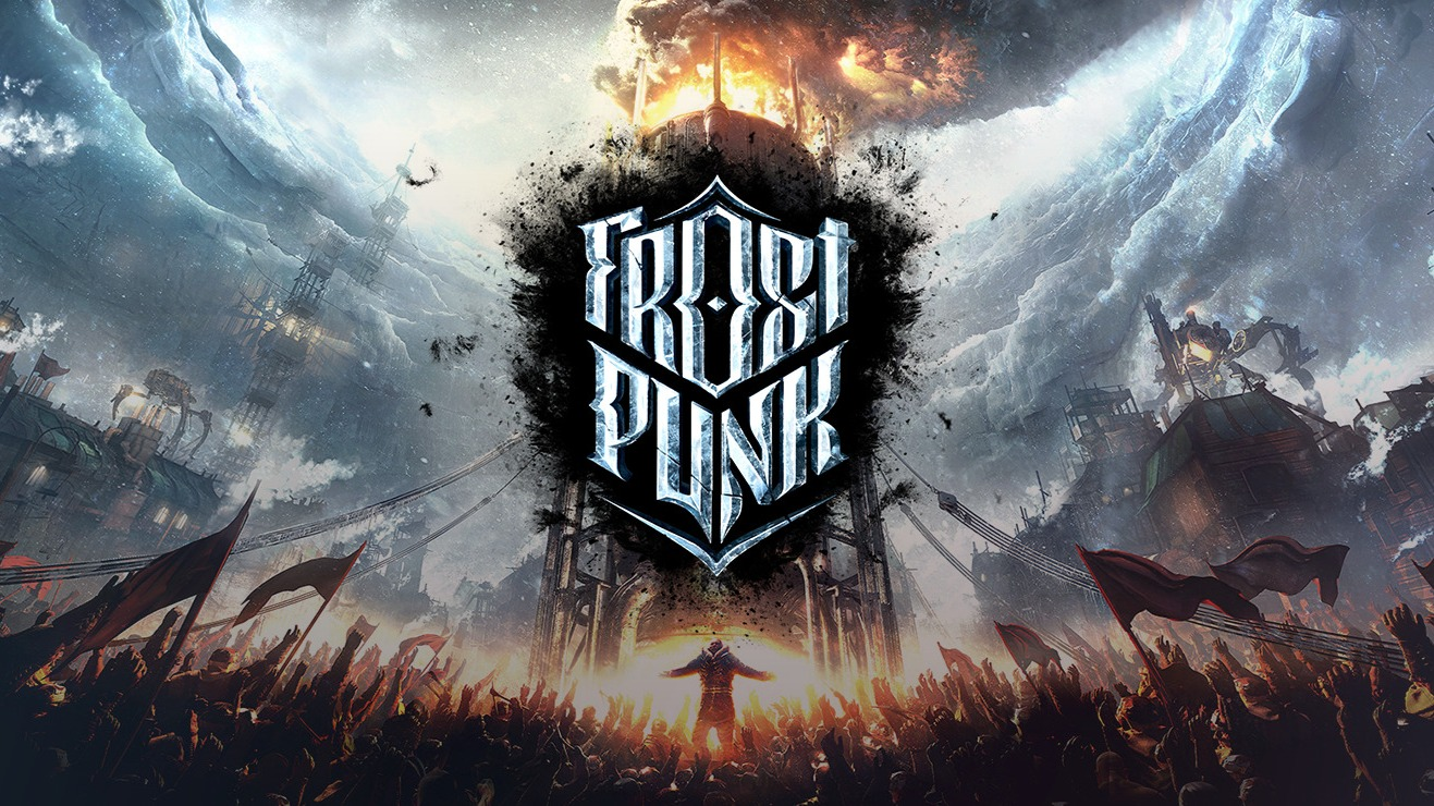 """Coverimage of the video game """"Frostpunk"""""""