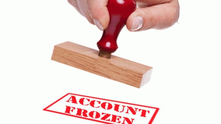 Account Frozen