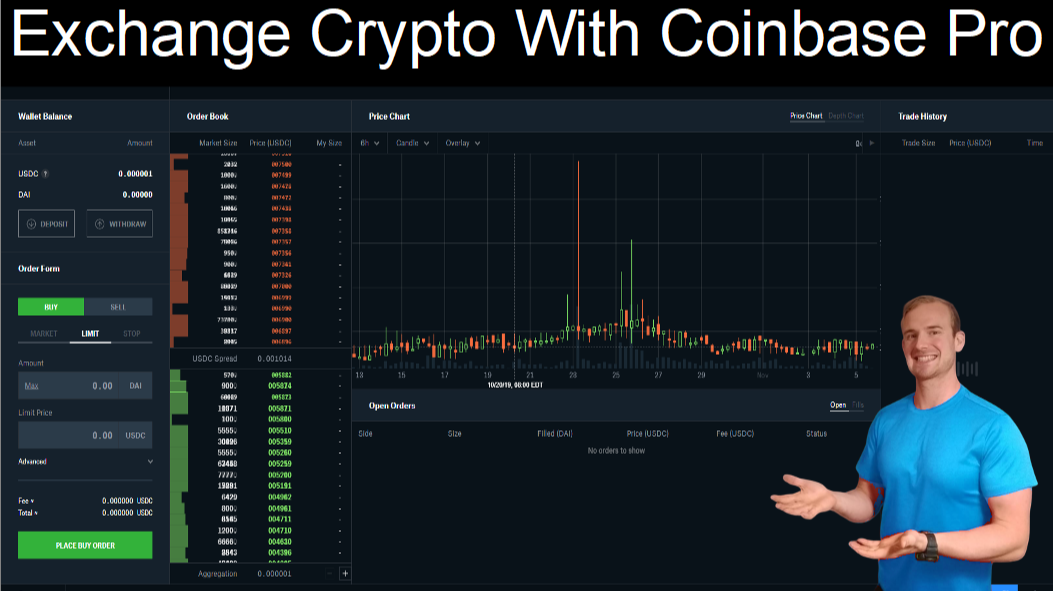 Exchange Crypto With Coinbase Pro (Beginner Tutorial)