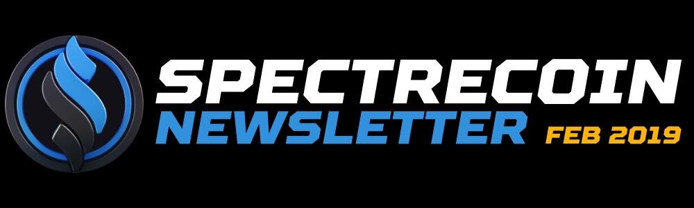 Spectrecoin Newsletter (February 2019)