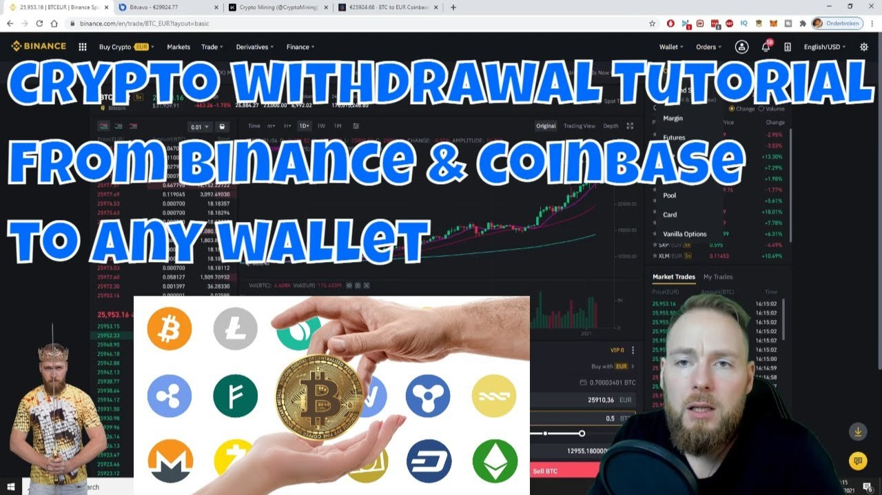 How to Withdraw crypto from Binance & Coinbase to Ledger Wallet (or Any Other Wallet)