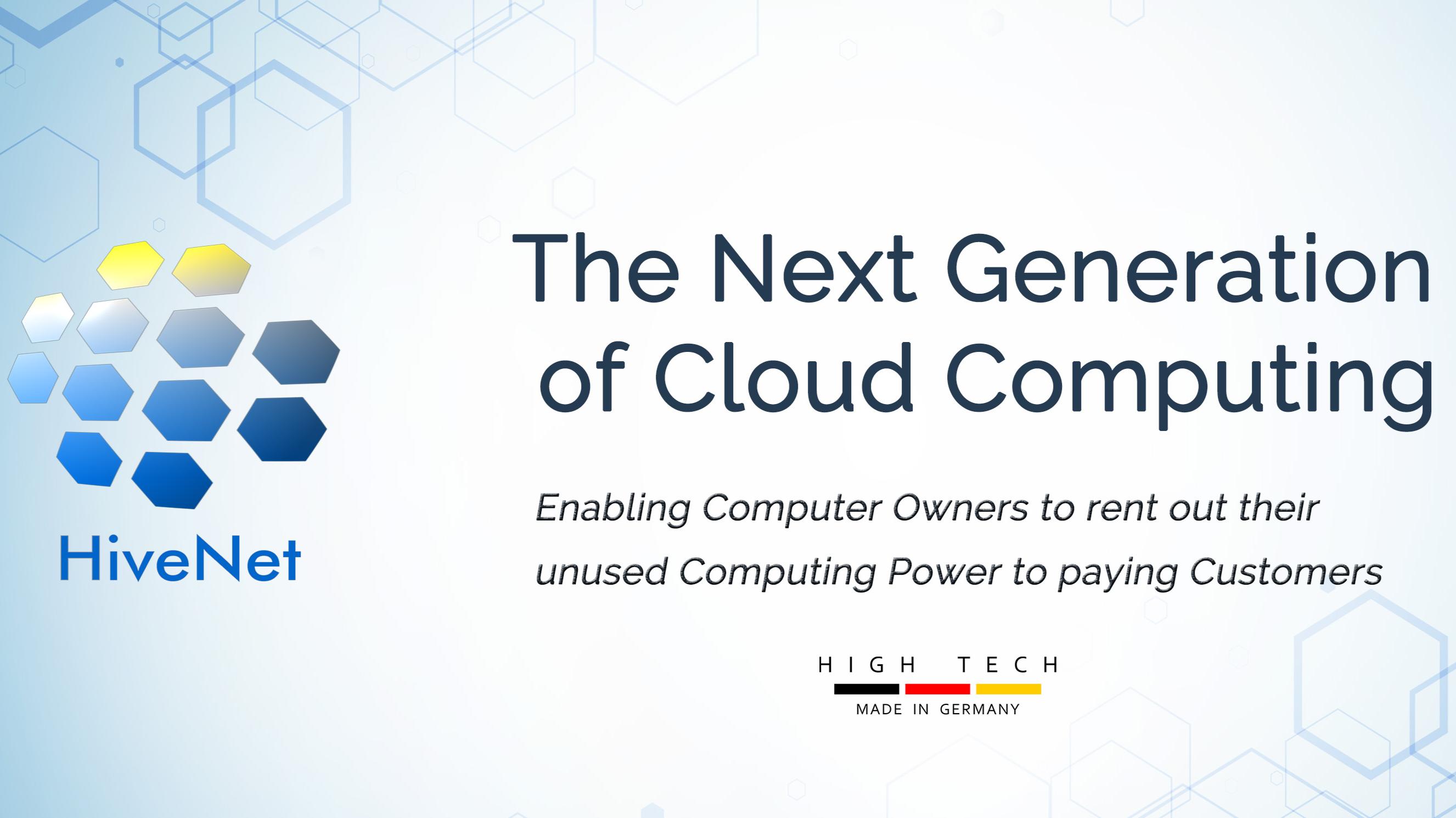 HiveNet- Cloud Computing