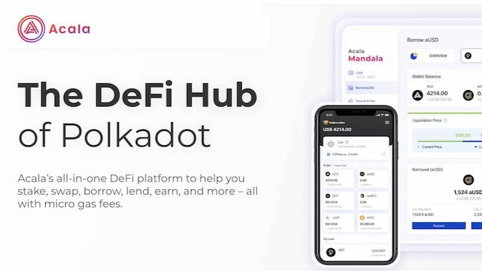 Ethereum Dapps can get into Acala - the DEFI star expected to come up in Polkadot