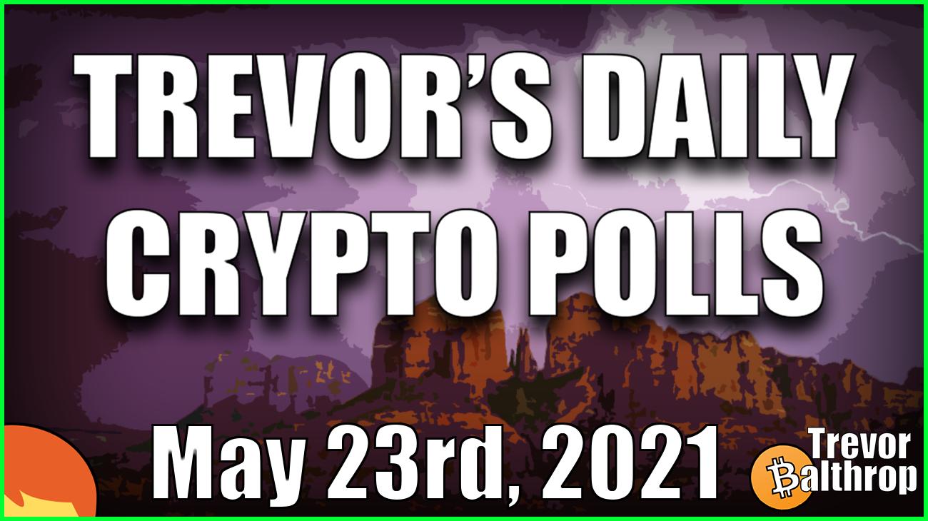 TREVOR'S DAILY CRYPTO POLLS