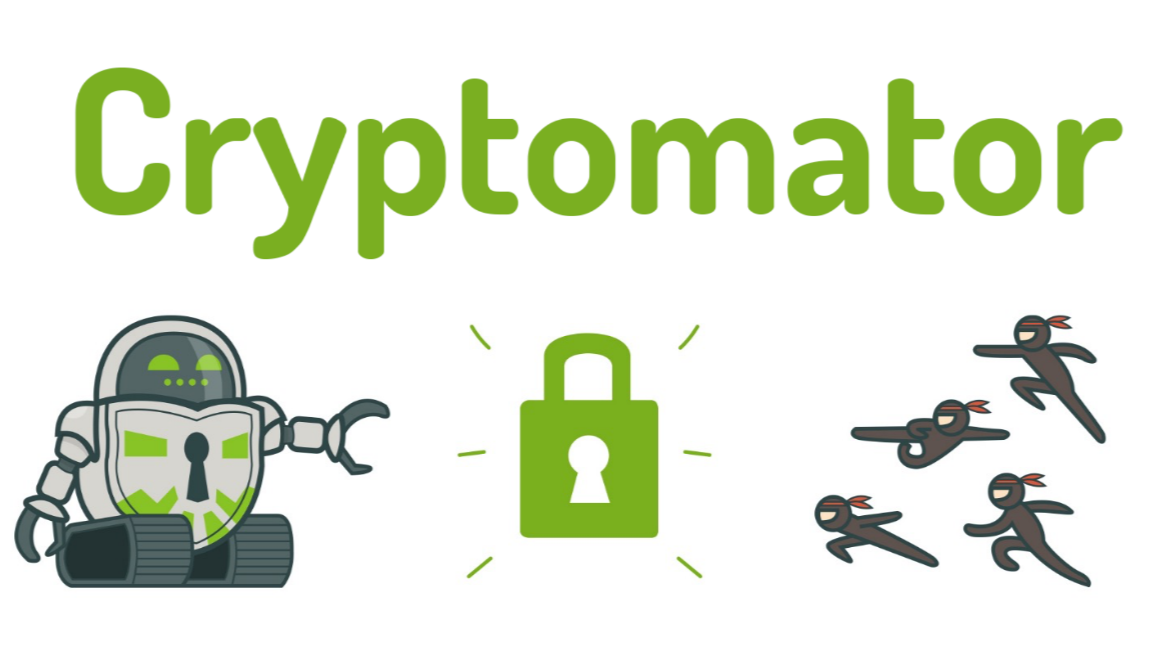 Use Cryptomator to safely store your data anywhere