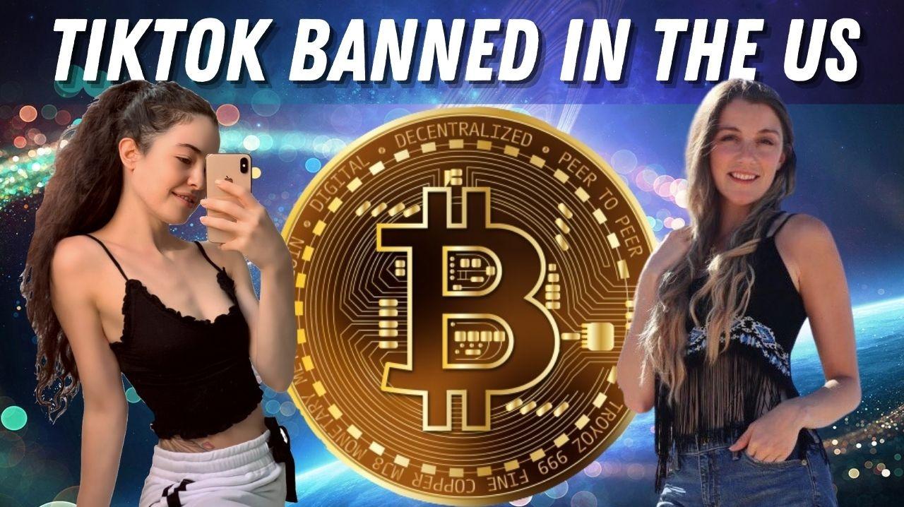 CryptoFinally TikTok banned in the united states crypto news