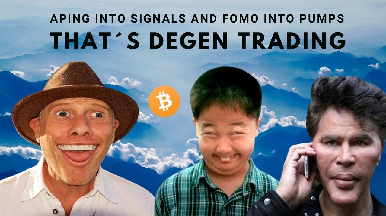 Degen Trader vs. Pro Trader