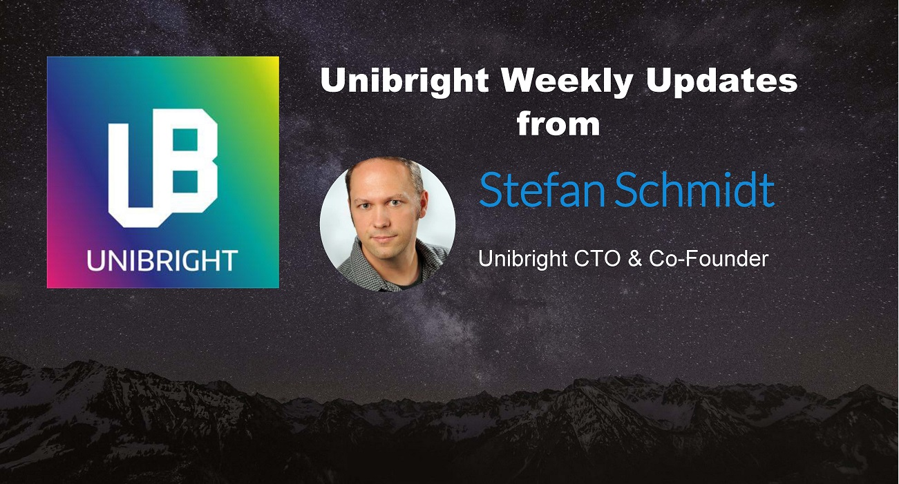 Unibright - Official Weekly Updates