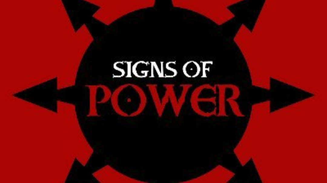Signs of power