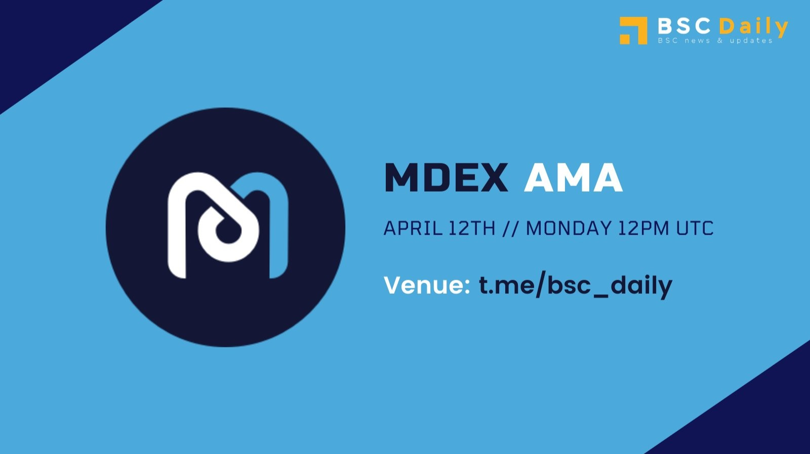 MDEX Updates: Win $50 BUSD on MDEX AMA! Multi-chain expansion on Binance Smart Chain and more!