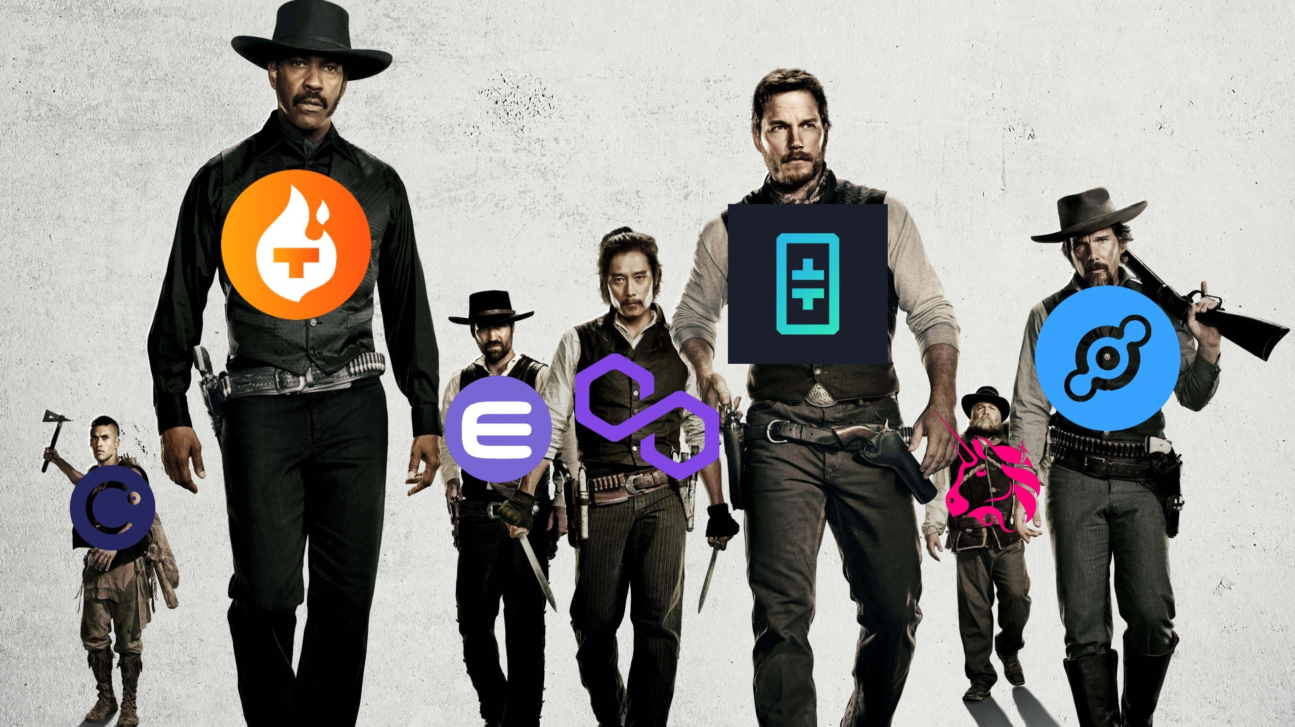 The Magnificent Seven: TFUEL, THETA, HNT, MATIC, CEL, ENJ, UNI — Biggest Gainers from May 21st to May 28th