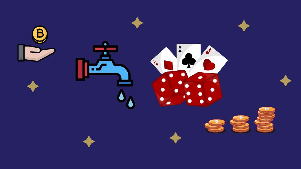 faucet casino earn crypto