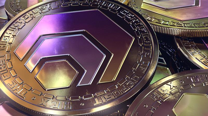 HEX 3 D Coin