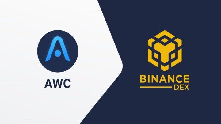 AWC to Binance DEX GFX