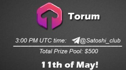 Torum x Satoshi Club AMA Recap from 11th of May