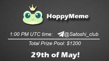HoppyMeme x Satoshi CLUB AMA Session 29 May 2021